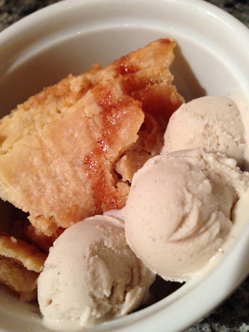 apple pie vanilla ice cream sm