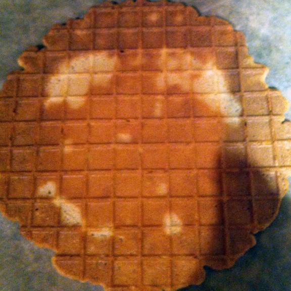waffle cone face