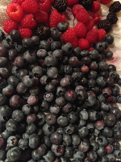 blueberry raspberry