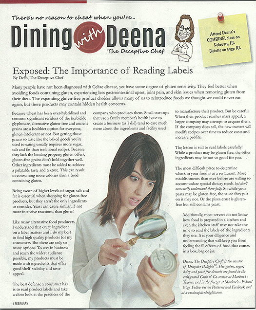 Deceptive Chef February Article Marlene's Market and Deli Sound Outlook