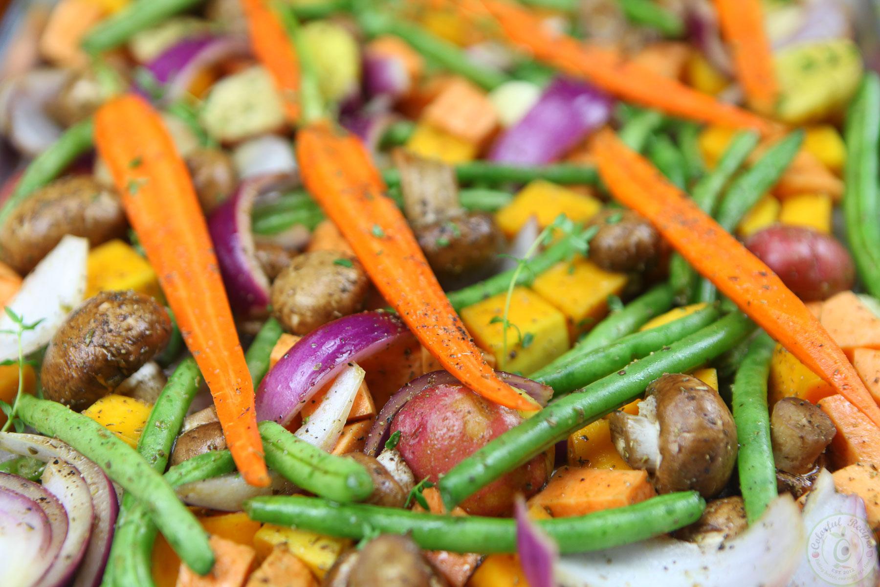 colorful veg