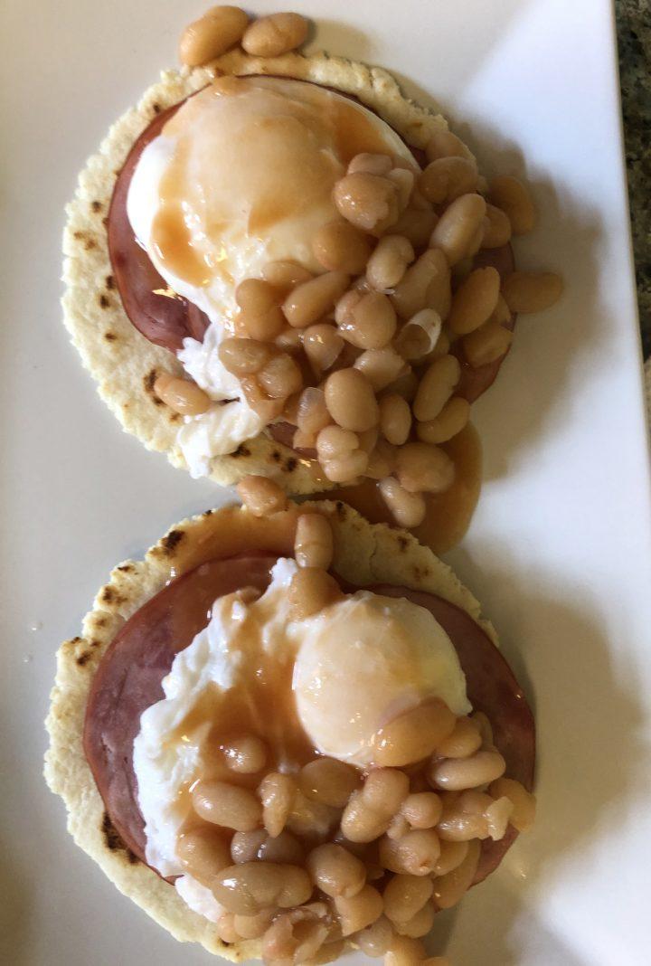 Baked Bean Benedict